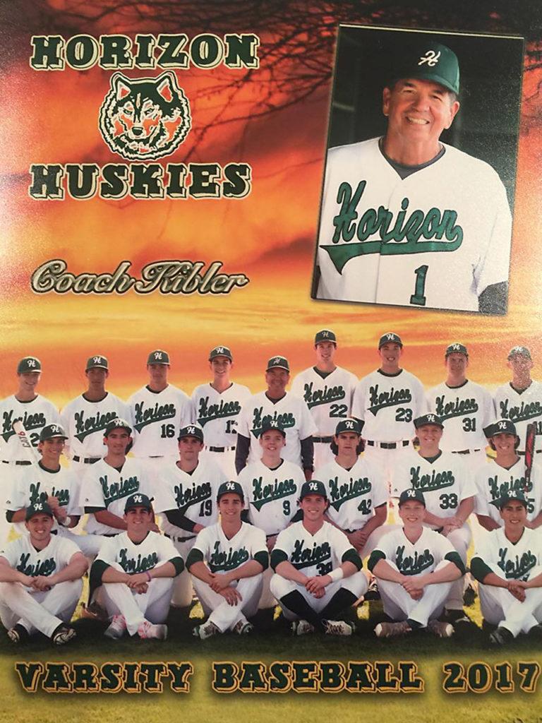 2017 Horizon High School Baseball Team